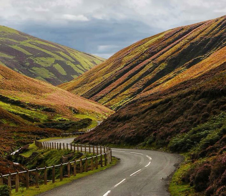 Quiet winding roads Discover Scotland, Nithbank Country Estate