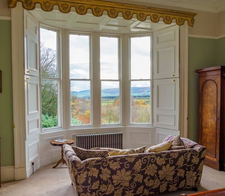 Room with a view Nithbank Country Estate