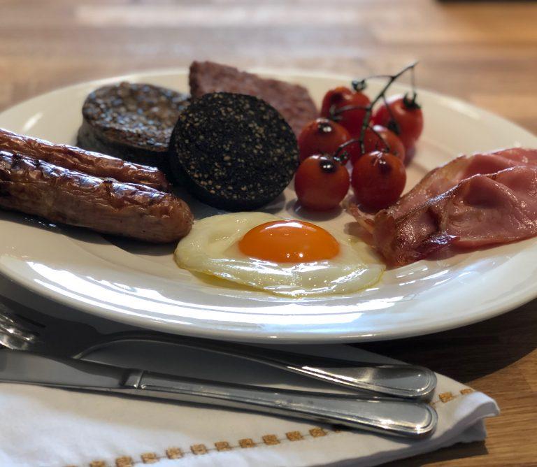 Scottish Breakfast Nithbank Country Estate