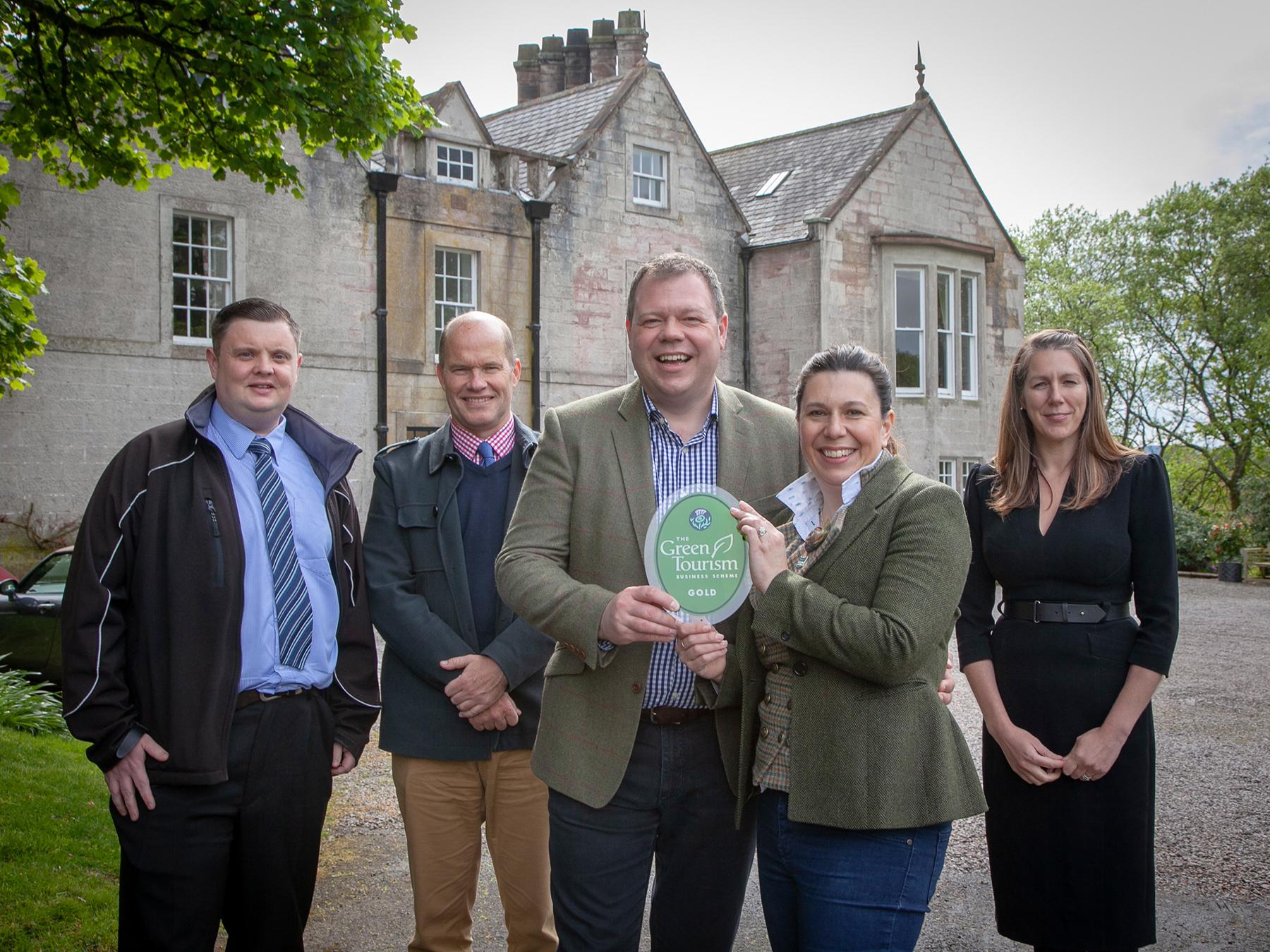 Green Tourism Gold Award Nithbank Country Estate
