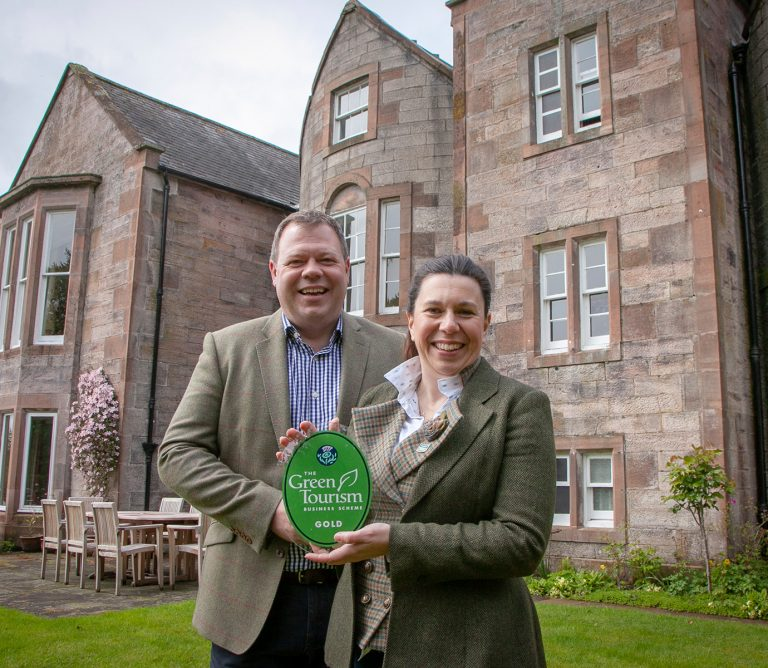 Green Tourism Gold Award Nithbank Country Estate