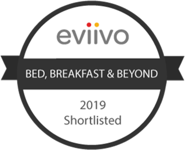 Bed Breakfast and Beyond award 2019 shortlisted